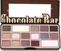 Wholesale GOOD PRODUCT Factory Direct New brand Makeup Eyes Chocolate Bar color Eyeshadow Palette Colors Eyeshadow shipping DHL free Best Quaity