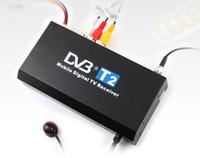 Cheap GPS Digital TV Reception Box DVB-T2 Receiver Freeview Box HDTV T2 MPEG4 H.264 HDMI USB PVR 1080I