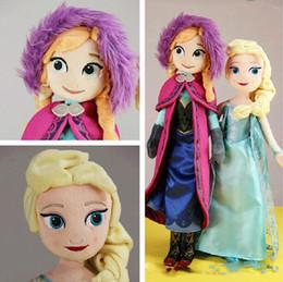 120pcs Frozen doll 50cm 20 inch frozen elsa anna toy doll action figures plush toy frozen dolls Christmas Gift