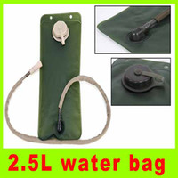 Wholesale 2 L portable EVA folding water bottle tarmac drinking water bladder bag outdoor climbing water bag high quality A288L