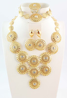 Celtic african american weddings - Hot Selling Gold Plating Fashion Jewelry Set Elegant Women Noble Gold Jewelry for Party Weddings