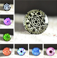 Spacers photo glass - 2014 new mm mm glass cabochon Magic Pattern glass cabs photo glass gem flat back
