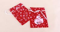Wholesale Christmas gift items Christmas gift bags Cartoon Christmas bag Santa Claus gift bags cm Christmas supplies