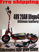 Wholesale adult super mini inch V ah w brushless motor lifepo4 lithium battery electric e scooters for sale