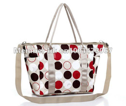 Wholesale 2014 Hot Selling Fashion baby diaper bag nappy bag changing bag large size assorted designs available