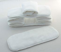 Bébé tissu réutilisable couche nappy à vendre-30 pcs / lot nouveau-nés des couches bébé / enfant / tissu doublures / 2 / couche nappy / microfibre inserts / serviettes / épaississement réutilisable lavable
