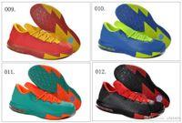 Mid Cut Men EVA PU Rubber TPR PVC 31 Different Colors New Model KD 6 VI Men's Basketball Sport Footwear Sneakers Trainers Shoes ( 1 - 20 Colours)