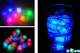 Luminary Lamps Wedding Ice Cubes LED Glow Novelty Party Sparkling Lights Ice Cubes
