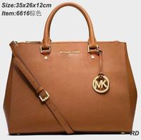Wholesale new MK handbags Fashion lady bag MK bag brown