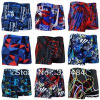 Cheap Free shipping swimsuit 2014 large size men swimwear mens surfing trunks XXXL men swim trunks spandex men's swimwear swim shorts