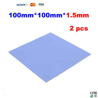 Wholesale 2 mm heatsink thermal Conductive silicone pad for laptop GPU CPU cooling