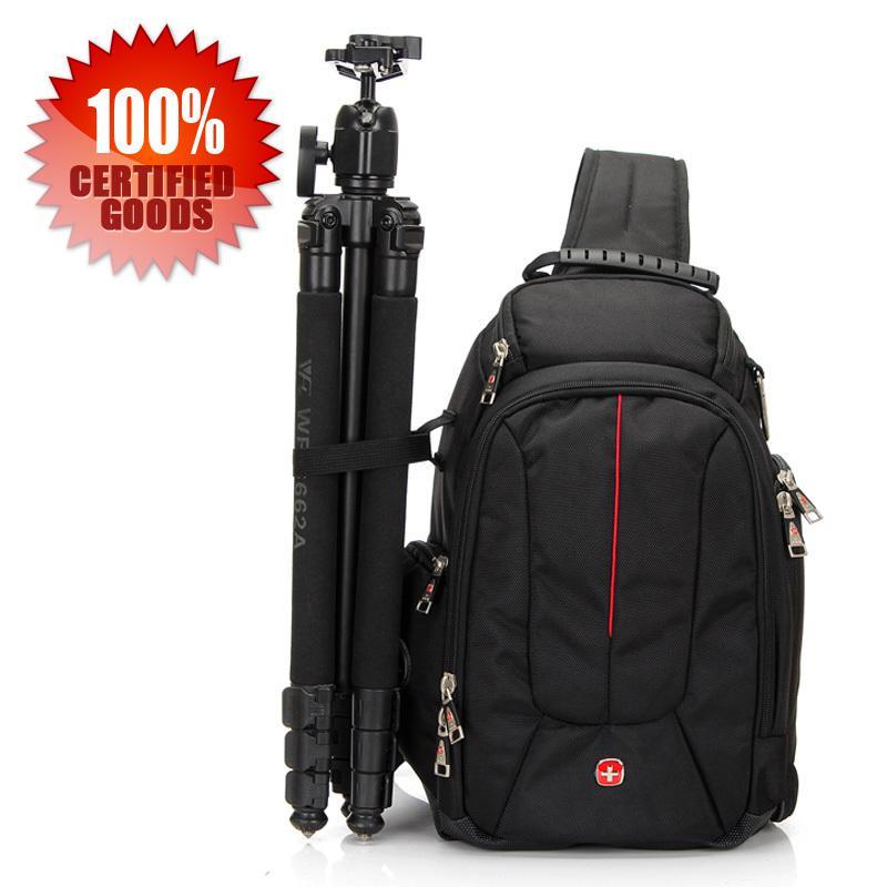 2017 Swiss Gear Sling Camera Case Shoulder Bag Backpack For Nikon ...