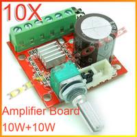 Wholesale Brand new DC7 V Mini Amplifier Board W W Class D Amplifier