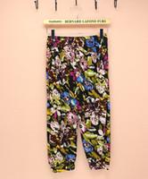 Cheap promotion sale legging pants plus size harem pants women flare flower pantalones feminino moletom calca feminina palazzo capris