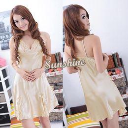 Wholesale Big Discount Sexy Lingerie Dress Nightwear Sexy Lingerie Hot Lace Sleepwear Dress Night Mini Dress Colors b7