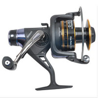 YL022 Front Drag Spinning Reel 10 Hot sale 9+1BB ball bearing fishing spinning reel 5:2:1 gear ratio DF6000 Full Metal Head Free Shipping