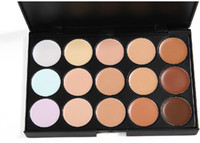 Lady women 15 Color Makeup Eyeshadow Camouflage Facial Conce...