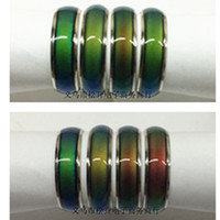 Band Rings mood rings - 100pcs mix size mood ring changes color to your temperature reveal your inner emotion
