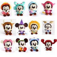 Wholesale Children stuffed mickey doll Authentic the zodiac inch Mickey Mouse cartoon cute doll doll house lalaloopsy doll toys