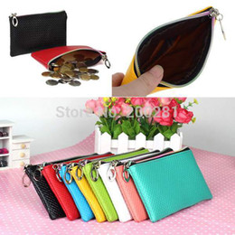 online shopping New Faux Leather Wristlet Clutch Evening Bag Handbag Purse Cell Phone Pouch Card Coin holder
