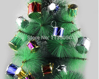 Wholesale 120 Christmas Decoration Christmas gifts tree ornaments small gifts Drum Tree Ornaments Small packs