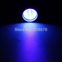 Colored Bulbs   New MINI 9 LED Super Violet UV Blacklight Portable Flashlight Torch Light Lamp CSI Rose Red FreeShipping