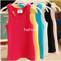 Cheap 2014 new children tanks baby boy baby girl t shirts baby & kids pajamas summer children clothes
