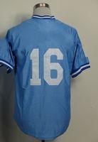 Men throwback jerseys - Bo Jackson Blue Throwback Baseball Jerseys Cool Base Jersey Mix order