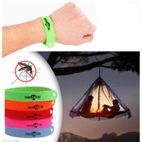 Cheap 20pcs lot wristband mosquito repellent bracelet from mosquito insect pest reject