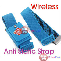 Wholesale New arrive New Wireless Antistatic Wrist Strap Discharge Band
