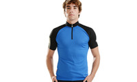 Wholesale 2013 Hot SOBIKE Air Pass Men s Summer Outdoor Sportswear Cycling Bike Bicycle Cycle Clothing Short Sleeve Jersey Blue Andes