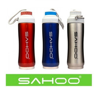 Wholesale Sahoo Bike Cycling Insulated Water Bottle Vacuum Bottle Stainless Steel ml Double insulation Water Bottle