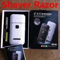 Shengfa RSCW-2103 hombres intercambio eléctricos recargables #039; s Shaver Razor inalámbrico barba afeitadoras rasuradoras Trimmer envío gratuito