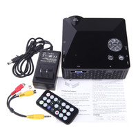 Wholesale 2014 Portable LED Video TV Beamer Projector for Home Theater Cinema Multimedia Player with HDMI AV VGA SD USB V764 DHL Free