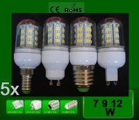 Wholesale 100 Quality Superbright G9 SMD5730 Corn Light W W V V E14 E27 Cree LED Bulb lamp LED Spotlight