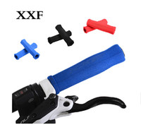 Wholesale XXF Bike Cycling MTB Touring XC Sponge Soft Grips Double opening Parts For Bicycles Bmx Racing Handlebar Grips colors
