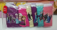 Wholesale Frozen New Children Panties Hot Sell Frozen Underwear Children Panties Designs set Total Sizes