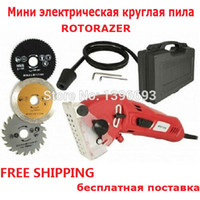 Wholesale ROTORAZER multifunction power tool Mini circular saw Versatile cutting SAW For wood metal granite marble tile brick