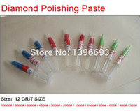 Wholesale 6pcs gram Diamond Polishing Lapping Paste Pastes Compound Set W0 W1 W1 W2 W3 W5