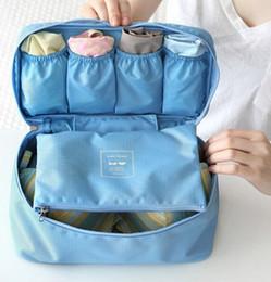 Wholesale Underwear Storage Bags Bras Bags Panties Socks Storage Case Waterproof Travel Portable Storage Box Bra Case