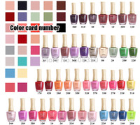 Cheap (Optional 1PCS) 2014 FCC 17 ml Quick Dry Nail Polish Solid Flash Sequins Nail Polish Color Option Free Shipping