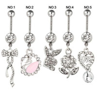 animal belly button - Summer Style Piercings Navel Rings Body Piercing Jewelry Belly Button Rings L Stainless Steel Navel Piercing Body Jewelry
