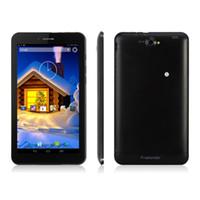 Wholesale 7 Inch MTK8312 G Phablet Android MB GB Bluetooth GPS WIFI Dual Camera Dual Sim Phone Tablet Freelander PD10 DHL Free