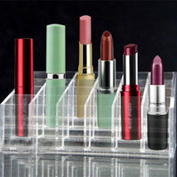 acrylic cosmetic display - Clear Acrylic Lipstick Holder Display Stand Cosmetic Organizer Makeup Case