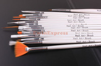 Wholesale 5X Set Of Nail Art Liner Design Set Dotting Painting Drawing Brush Pen Tools Kit