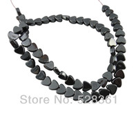 Wholesale Strands Hexagonal Hematite Beads Spacer Ball Friendship mm Black Non magnetic Craft