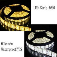 Wholesale 5630 V flexible light leds m LED strip waterproof m White color brighter than