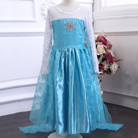 Cheap TuTu elsa anna diamond dress Best Summer Princess Dress frozen princess dress
