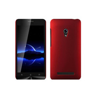 Plastic asus matte - S5Q Snap On Rubberized Matte Hard Case Back Cover Grind arenaceous Protector For Asus Zenfone AAADTK