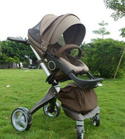 Other stokke xplory - 2014 New Fasion Stokke Xplory Stroller Baby Stroller Toddlers Prams Brown z TT36752301125
